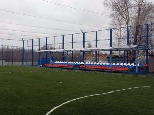 Футбольное поле по проекту компании Евростройпроект