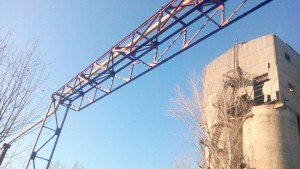 Проект эстакады газопровода