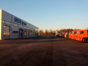 Открытие автотехцентра Камаз