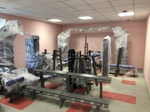 Проект тренажерного зала