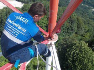 Обследование башни связи