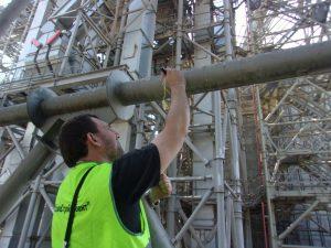 Обследование конструкций зернового терминала