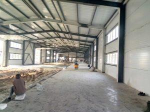 Склад завода по производству радиаторов