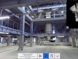 Облако точек завода