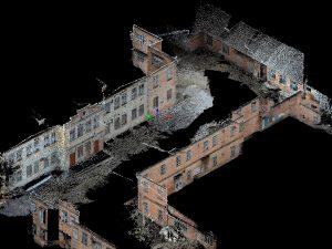 Обмеры фасадов фотограмметрией