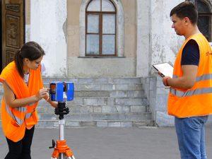 Лазерное сканирование для обмерных работ