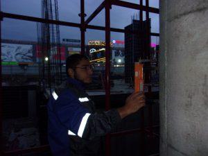 испытание бетона круглых жб колонн