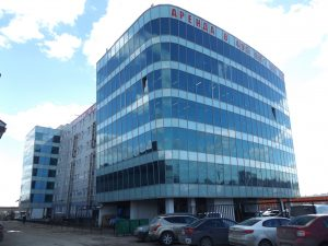 Проект делового центра